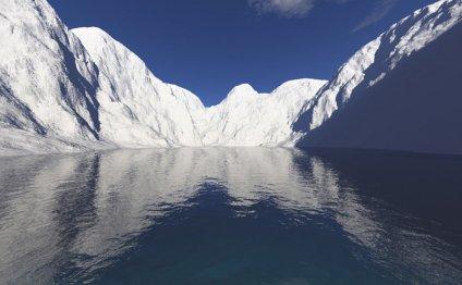 рядом с северным полюсом?