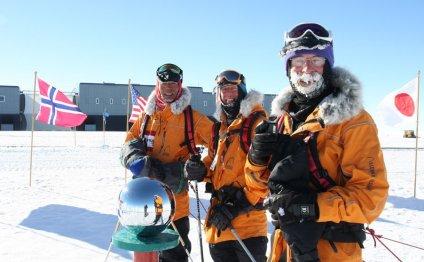 Полет на Южный полюс
