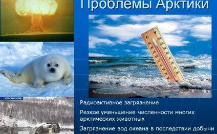 Проблемы Арктики