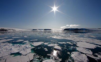 Северный полюс Земли. Арктика