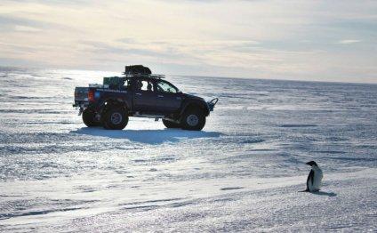 Hilux покоряет Южный полюс